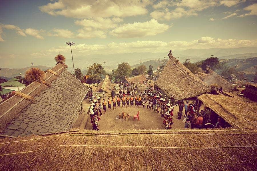 Calcutta e Nagaland in occasione dell'Hornbill Festival